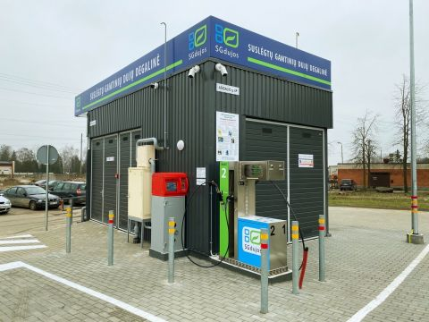 First open for all CNG station in Kaunas